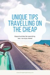 Unique tips travelling on the cheap