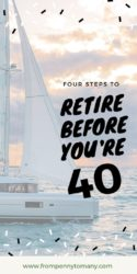 Retire before you're 40