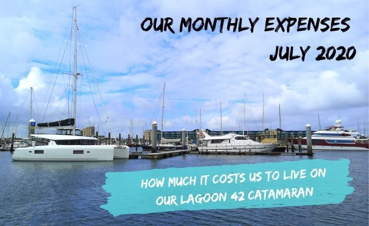 our monthly expenses july 2020