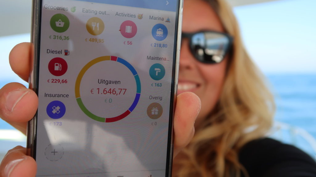 We use the app 1Money to track our expenses