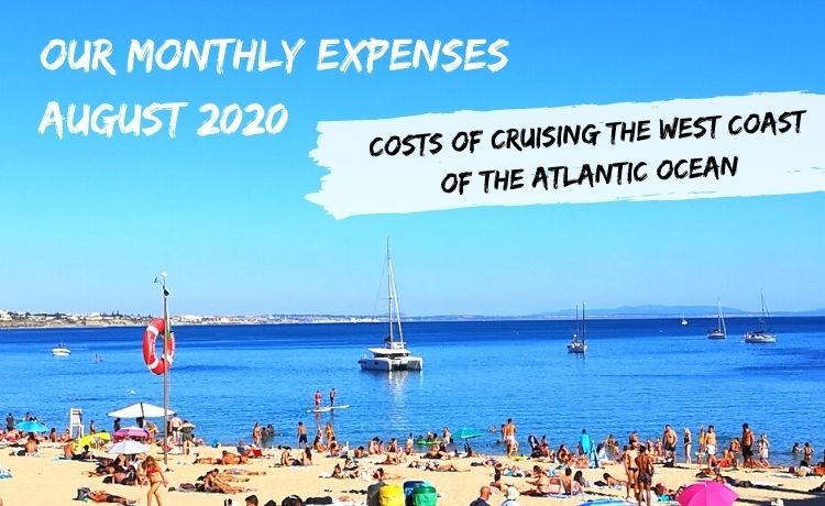 our monthly expenses August 2020