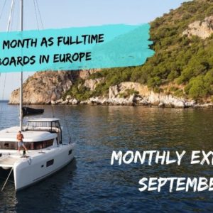 our monthly expenses September 2020