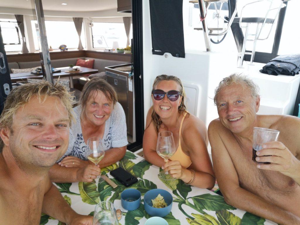 Family time in Cadiz, Spain
