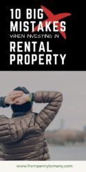 Ten BIG MISTAKES when investing in rental property (part 2)
