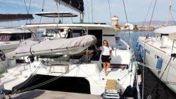 Our berth in Almerimar, Spain
