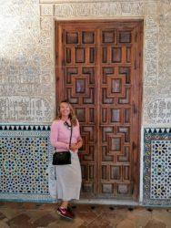 Beautiful Alhambra in Granada