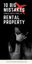 Ten BIG MISTAKES when investing in rental property