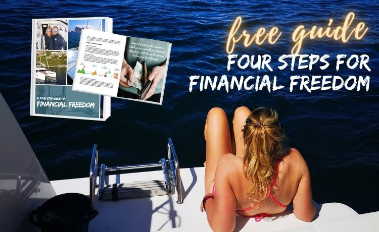Sign up for our newsletter and get the free four step guid to financial freedom