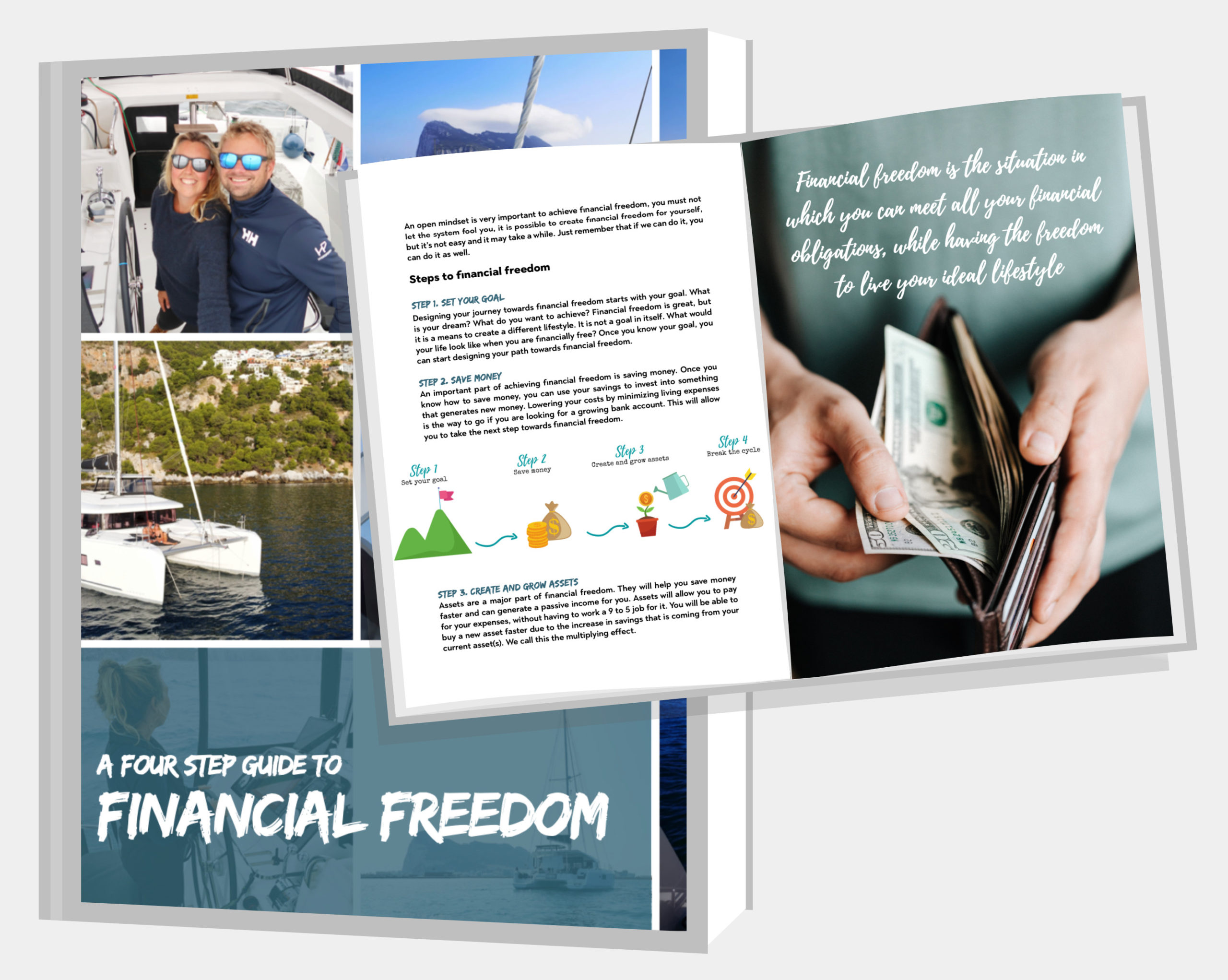 subscribe and get the free guide financial freedom guide