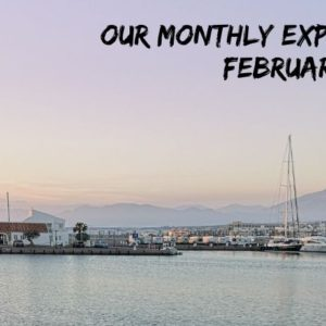 Monthly expense overview February