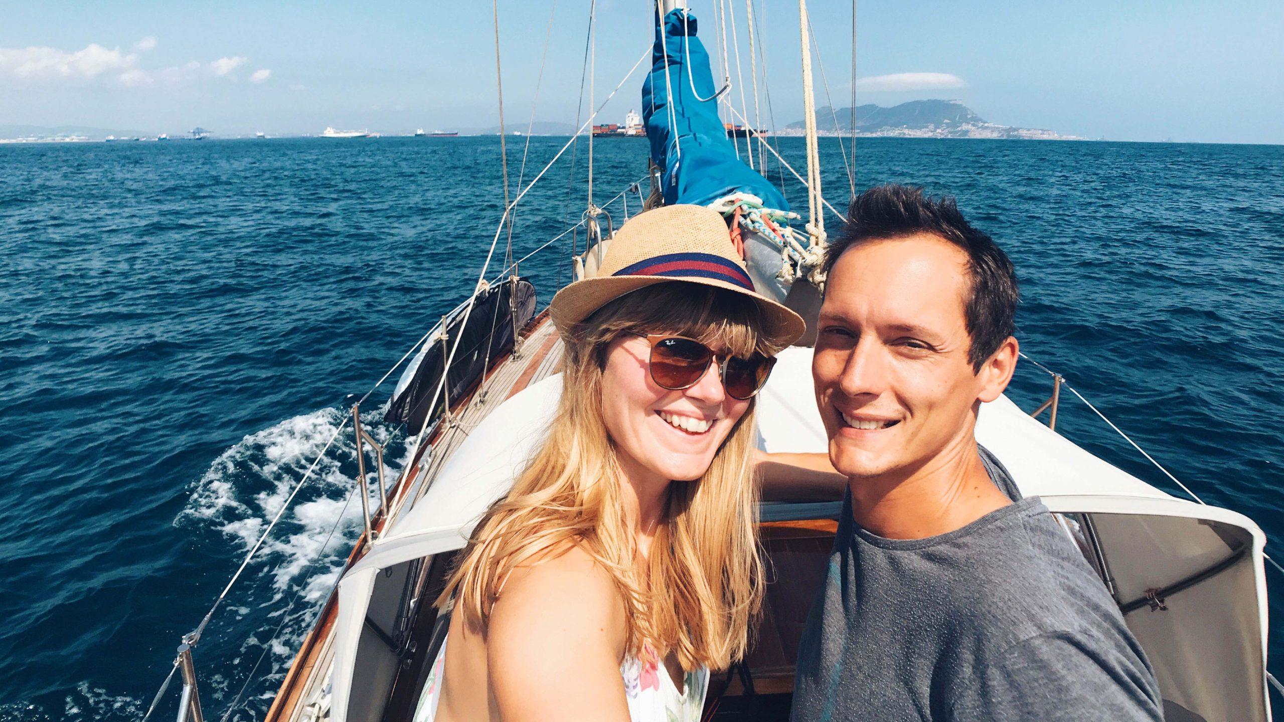 Kathi and Max on Makani