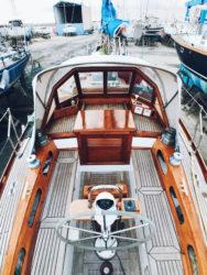 Makani sailboat refit