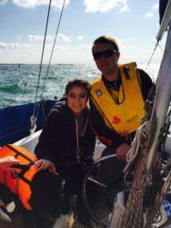 First Sail on Alfie's Grandad's Boat