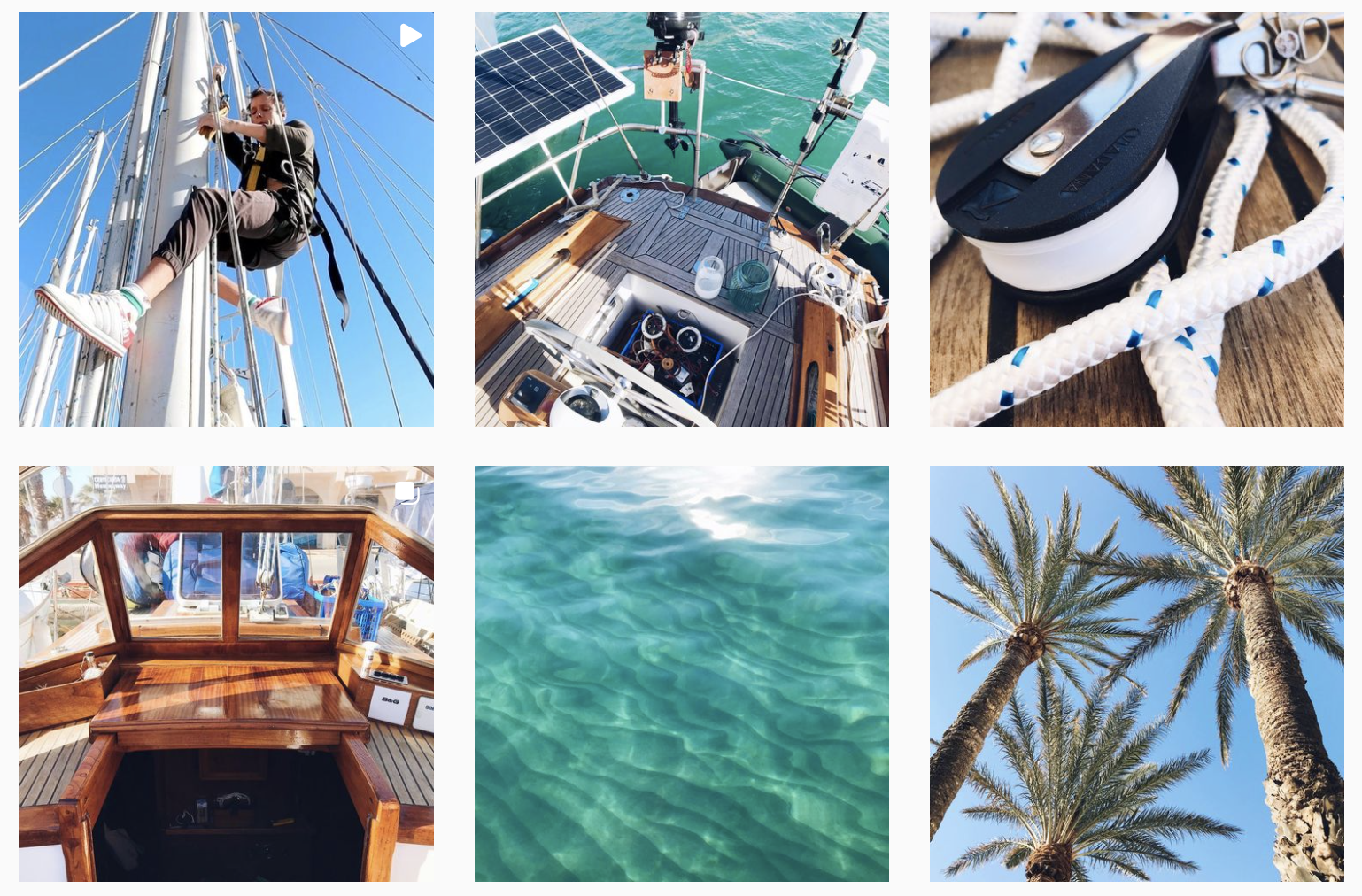 CAPTURE FROM Kathi & Max's INSTAGRAM 'Sailing Makani'