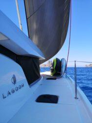 Sailing around Ibiza