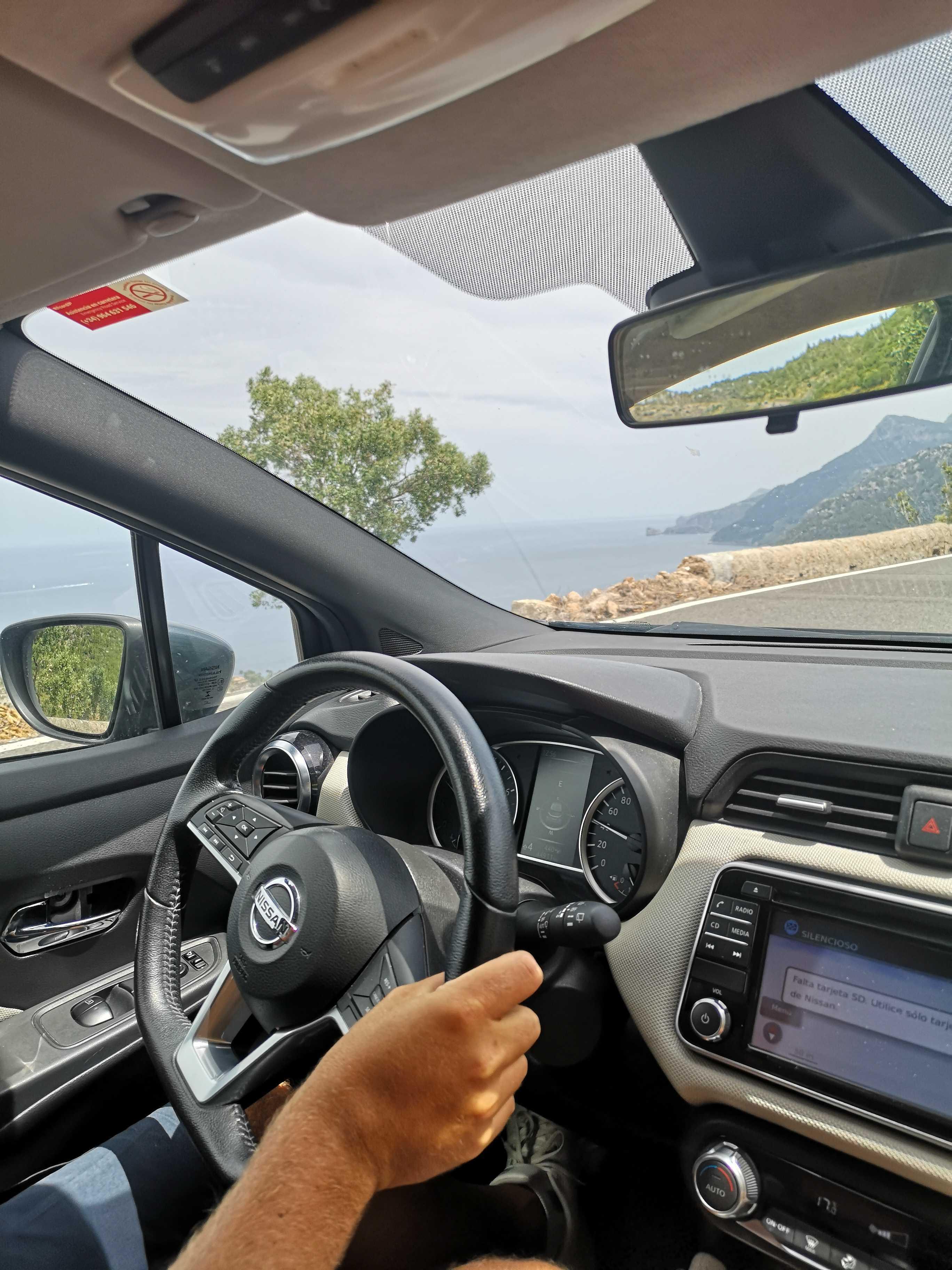 Exploring Mallorca with a rental car