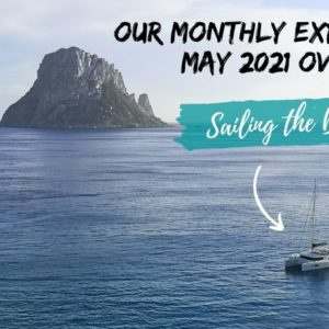 Monthly expenses overview May 2021