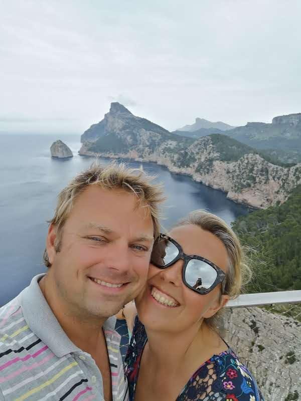 Ronald and Fleur in Mallorca