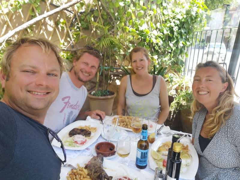 Eating out with Sailing Koru