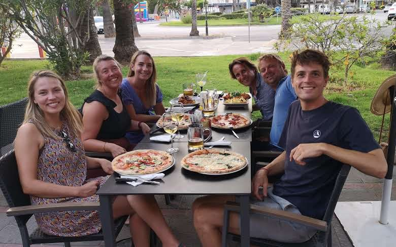 More food: goodbye dinner in Mallorca